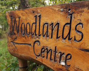 Woodlands Centre Sign